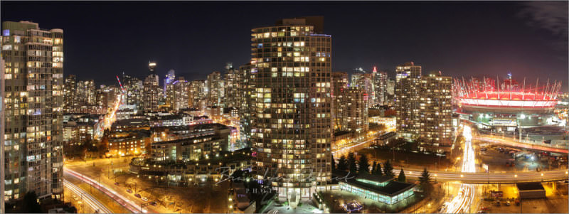 Captured from 27th floor of Yaletown apartment