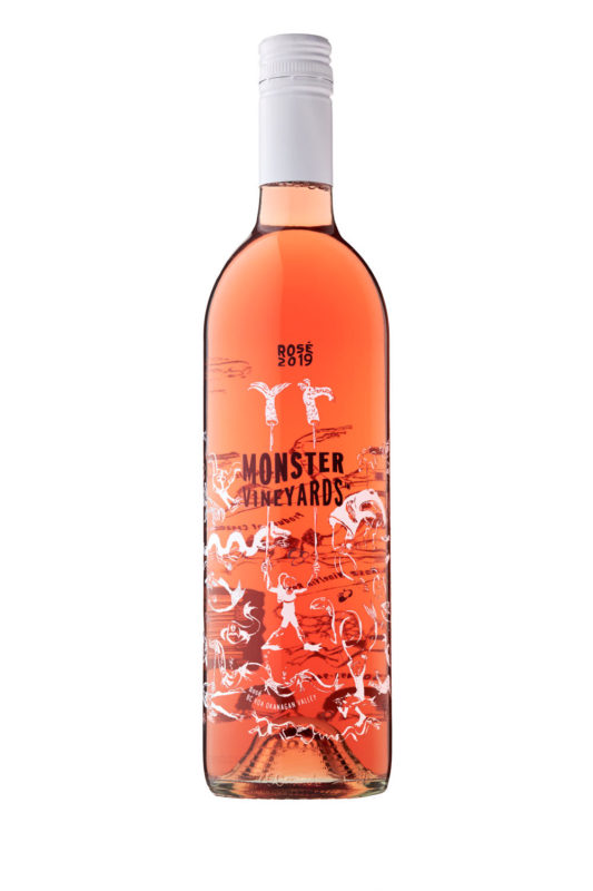 Penticton photographer shooting Moster rose wine