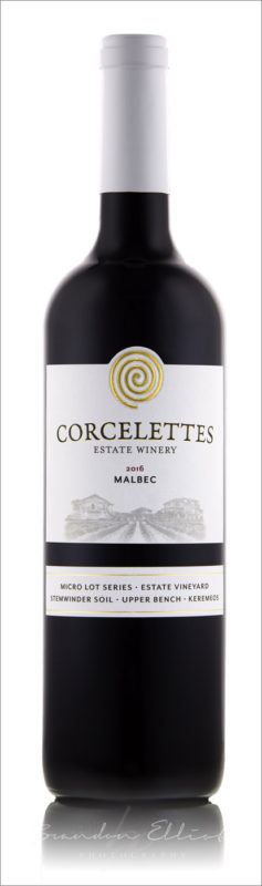 2016 Malbec Corcelettes winery
