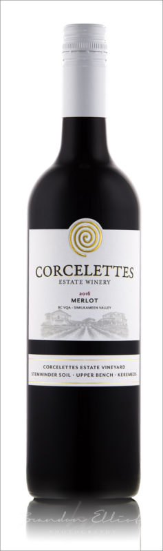 Corcelettes Winery 2016 Merlot