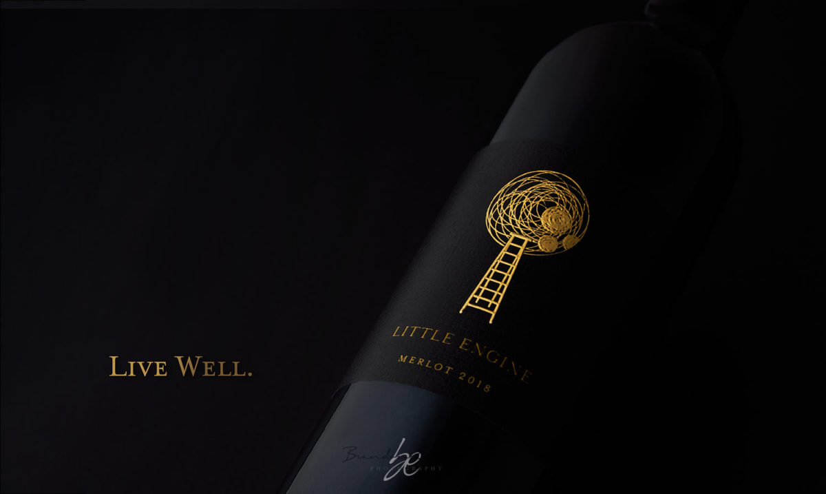 little engine wine bottle, wine bottle photography, bottle shots,